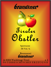 Tiroler Obstler
